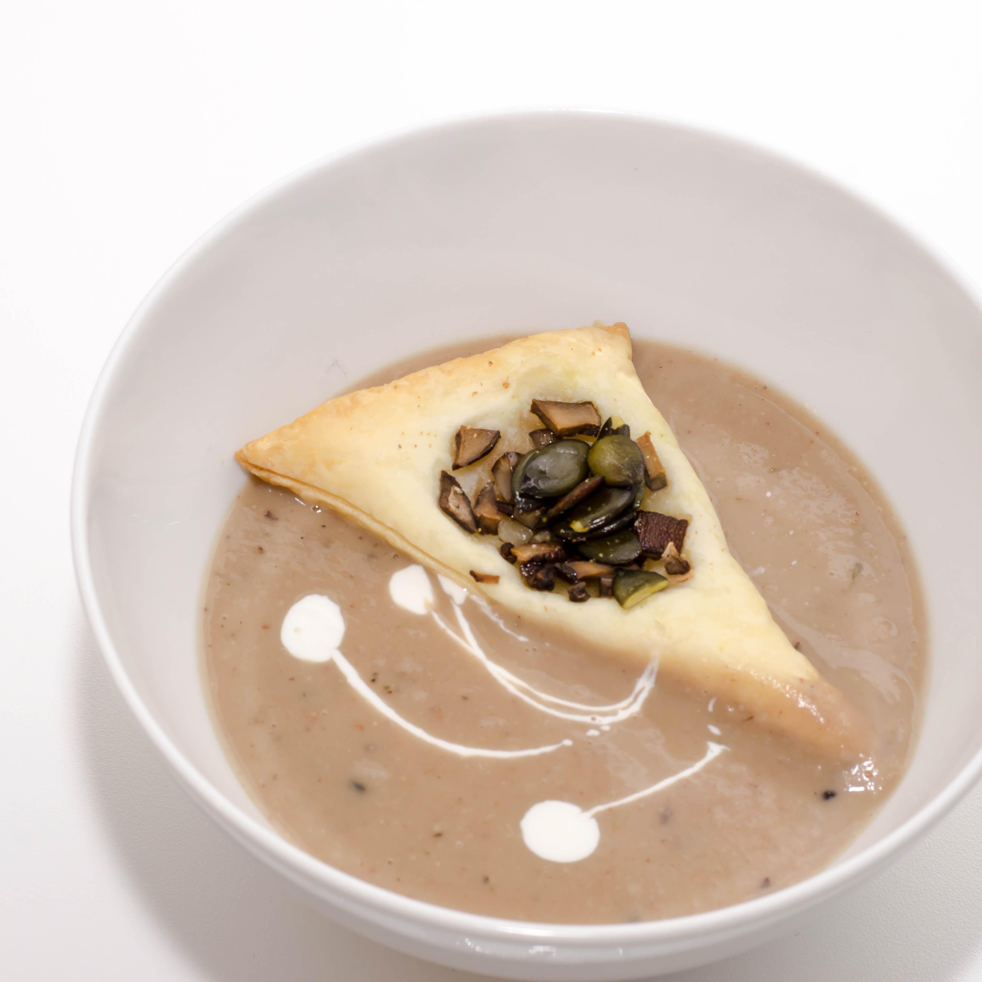 Champignoneinlage Suppe