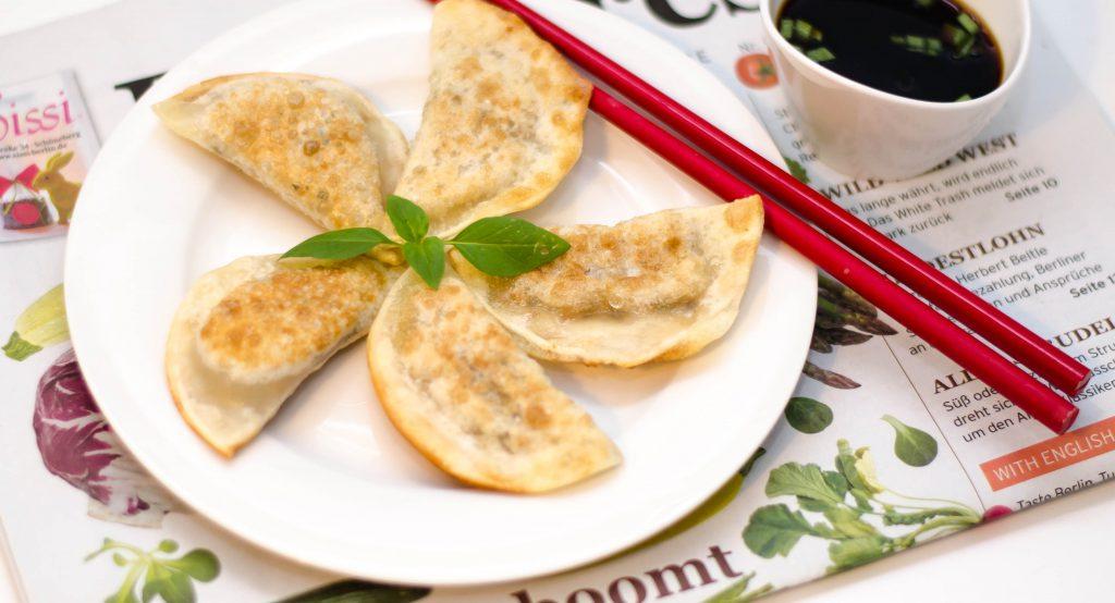 Gebratene Dumplings – Gyoza