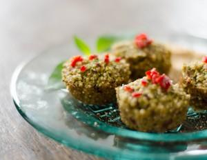 Brokkoli-Quinoa-Bites