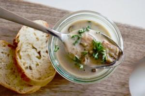 Champignon-Quinoa-Suppe